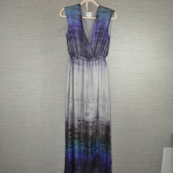 Reiss Silk Ombre Maxi Dress - 2